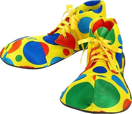 Unisex Clown Shoes Rainbow Halloween