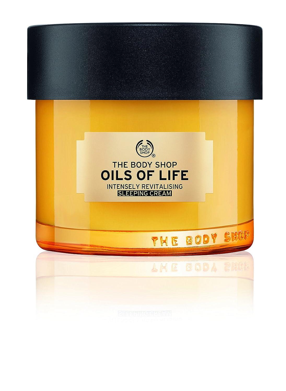 The Body Shop Oils Of Life Intensely Revitalising Sleeping Cream, 100% Vegan Night Cream, 80ml The Body Shop Canada 5028197415846