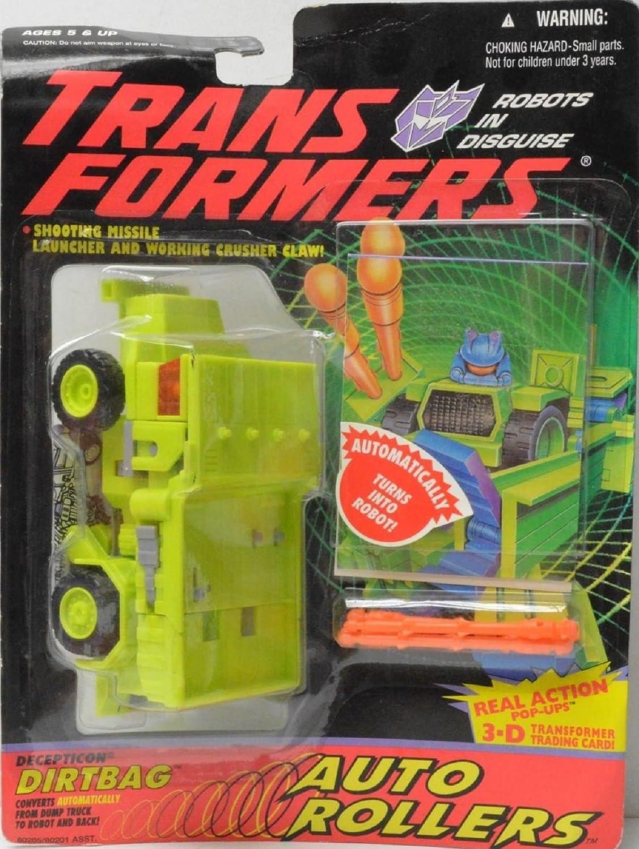Transformers Robots in Disguise Decepticon DIRTBAG Action Figure (1994 Hasbro) by Hasbro