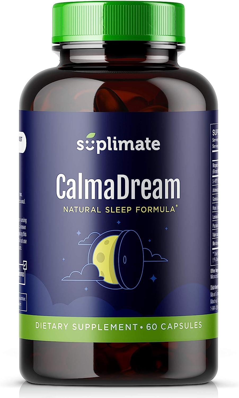 Sleep Aid, Premium Herbal Sleep Supplement with Valerian Root, Ashwagandha, Melatonin, Passion Flower, Magnesium and 5HTP, Sleep Aids for Adults Extra Strength Sleeping Pills