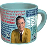 Mister Rogers Heat Changing Coffee Mug - Add Hot Liquid and Watch Mr. Roger's Sweater Change Color - Comes in a Fun Gift Box - by The Unemployed Philosophers Guild