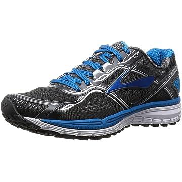 Brooks Men's Ghost 8 Anthracite/Methblue/White Running Shoe - 7.5 D
