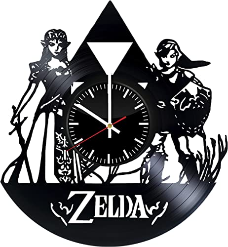 The Legend of Zelda Vinyl Record Wall Clock Get Unique Home Room Wall Art Decor Idea