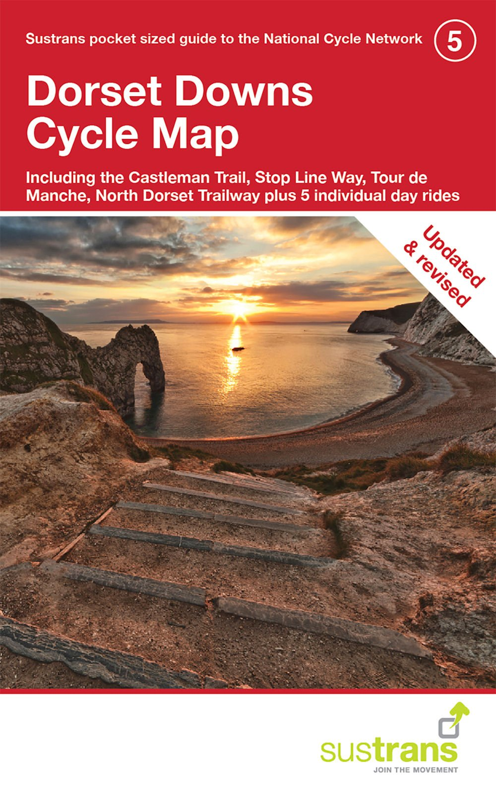 Dorset Downs Cycle Map: Including The Castleman Trail Plus 5 Individual Day Rides (CycleCity Guides)