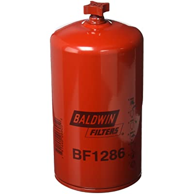 Baldwin BF1286 Heavy Duty Diesel Fuel Spin-On Filter: Automotive