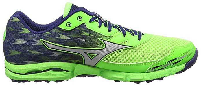 Mizuno Wave Hayate 2, Zapatillas de Running, Hombre, Verde (Green Gecko/Silver/Blue Depths), 39 EU (6 UK): Amazon.es: Zapatos y complementos