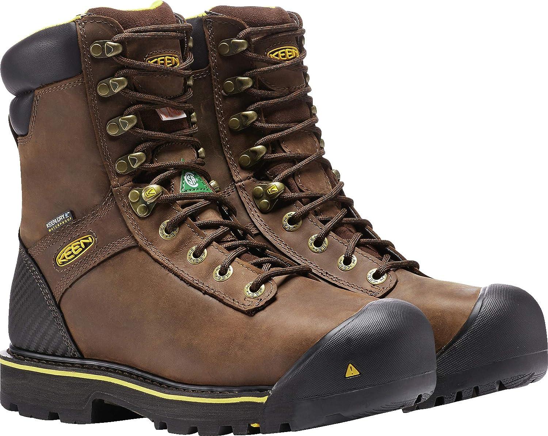 1869f83328f KEEN Utility - Men's CSA Abitibi Waterproof (Steel Toe) Work Boots