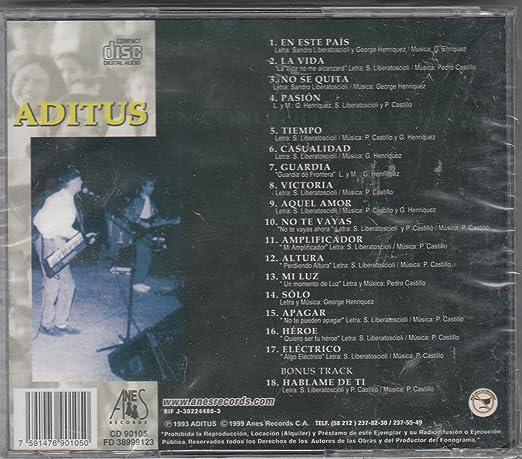 Aditus - En Concierto en este Pais - Amazon.com Music