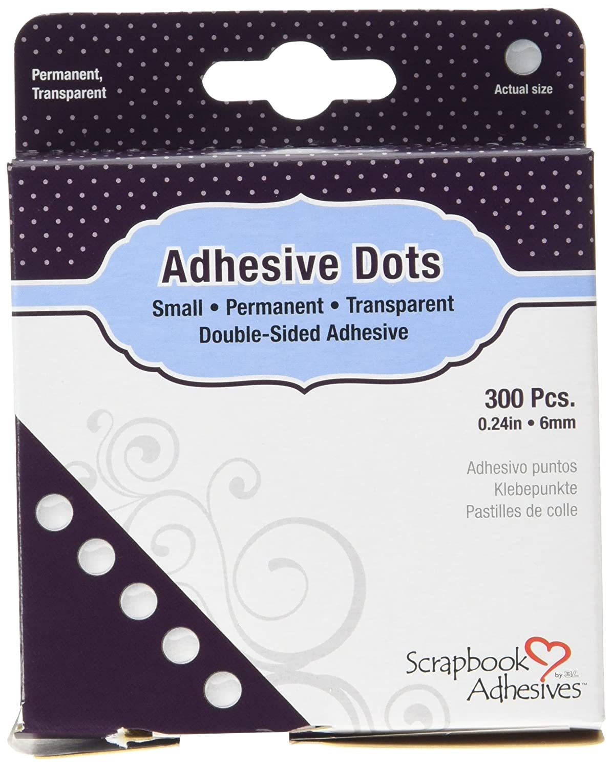 Amazon.com: Donna Salazar by 3L Dodz Adhesive Embellishment Dots, X-Large: Arts, Crafts & Sewing