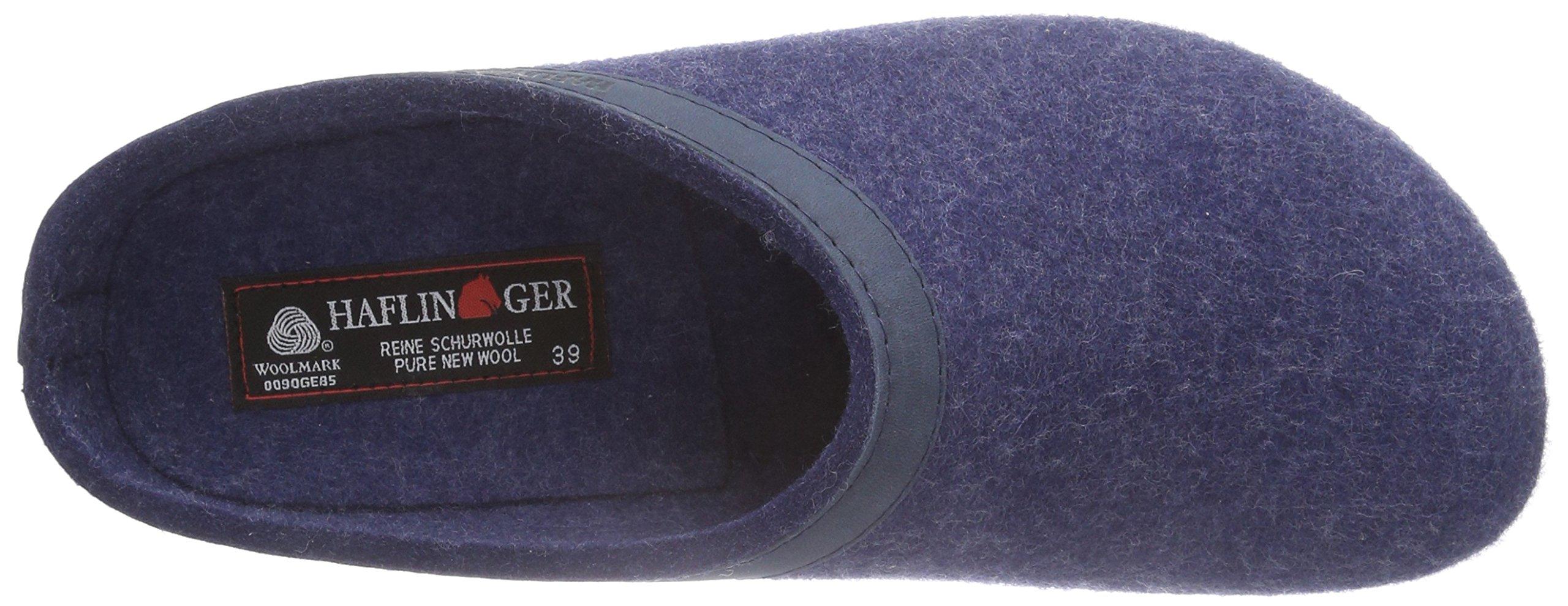 Haflinger 713001 Slippers, Filztoffel Grizzly Torben, Jeans, Gr 50 by Haflinger (Image #12)