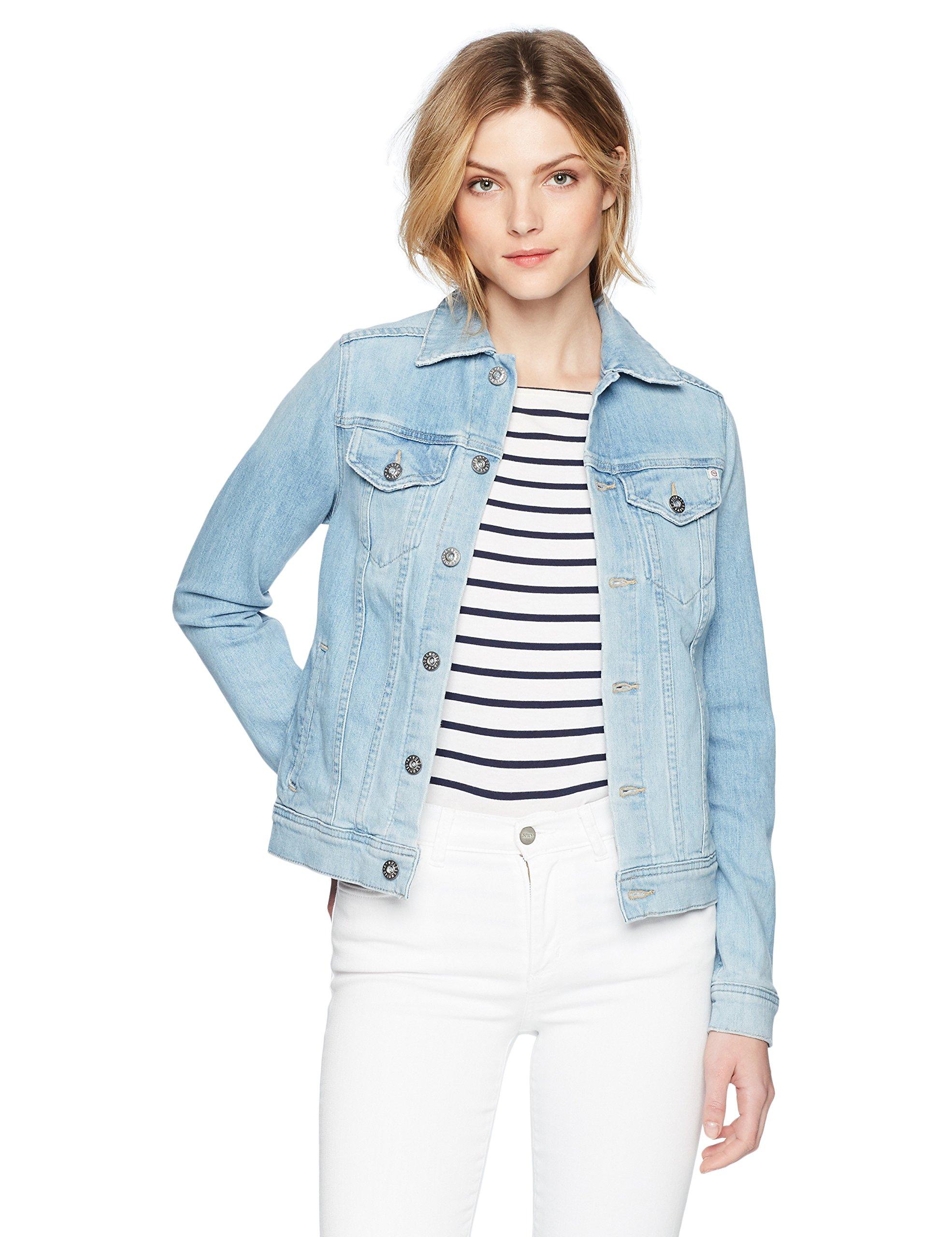 AG Adriano Goldschmied Women's MYA Jacket, Sunlight Blue XS