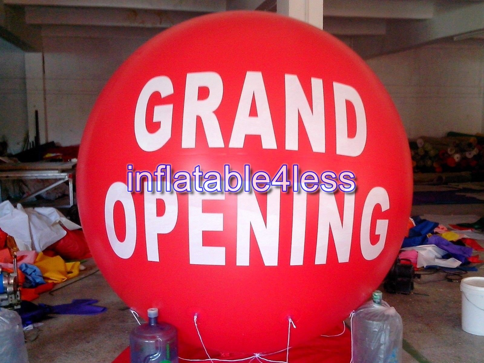 inflatable4less 7ft GRAND OPENING Advertising Round Helium Balloon Ball (Red)