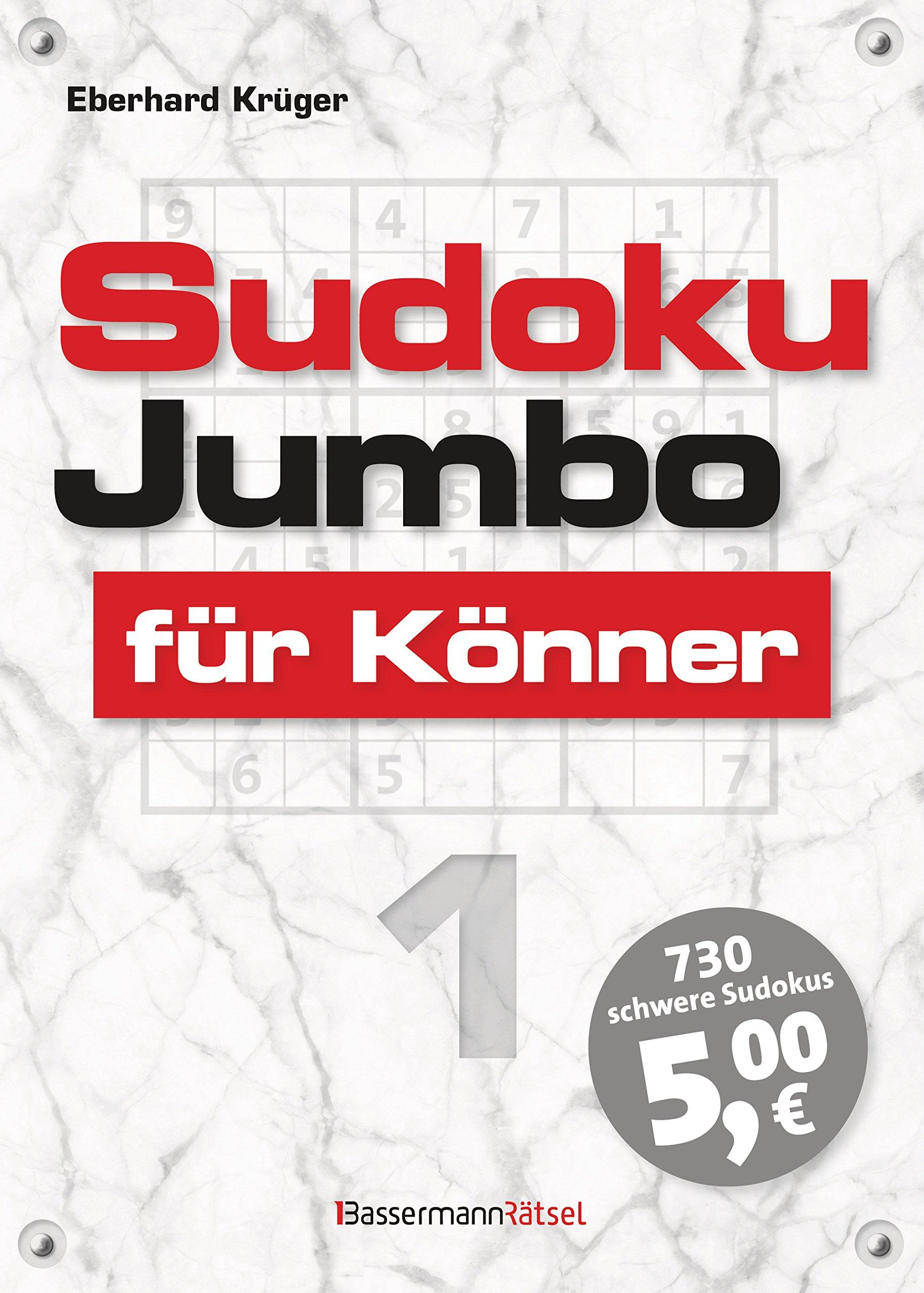 Sudokujumbo für Könner 1: mittlerer bis hoher Schwierigkeitsgrad