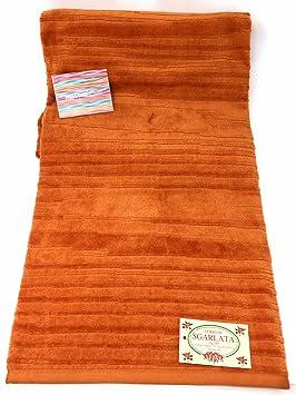 Toalla baño de esponja Missoni Art. Kian Color Cotto cm. 100 x 150: Amazon.es: Hogar
