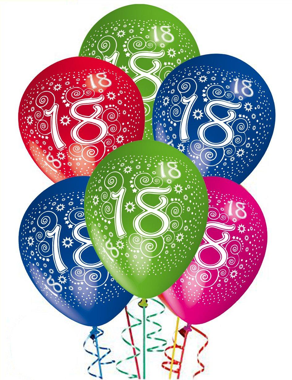 Estremamente Palloncini Compleanno 18 anni addobbi e decorazioni per feste  RF05