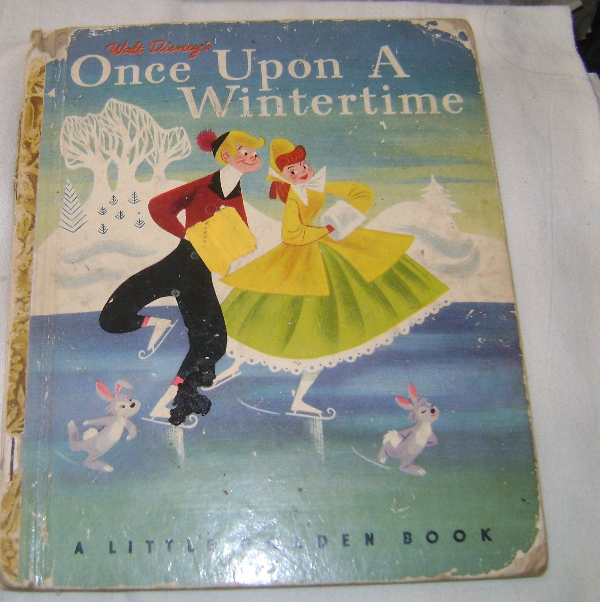 Walt Disney S Once Upon A Wintertime A Little Golden Book Adapted By Tom Oreb Mary Reed Ph D Walt Disney Studio Amazon Com Books