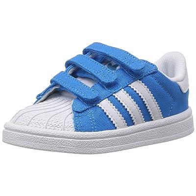 Adidas SUPERSTAR 2 CF I Chaussures Sneakers Bebe Garcon Bleu Adidas