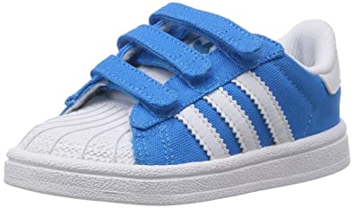 adidas superstar enfant bleu