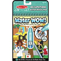 Melissa & Doug On The Go Water Wow! Reusable Water-Reveal Activity Pad – Occupations