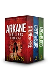 ARKANE Thriller Box-Set 1- 3: Stone of Fire, Crypt of Bone, Ark of Blood (ARKANE Boxset) Kindle Edition