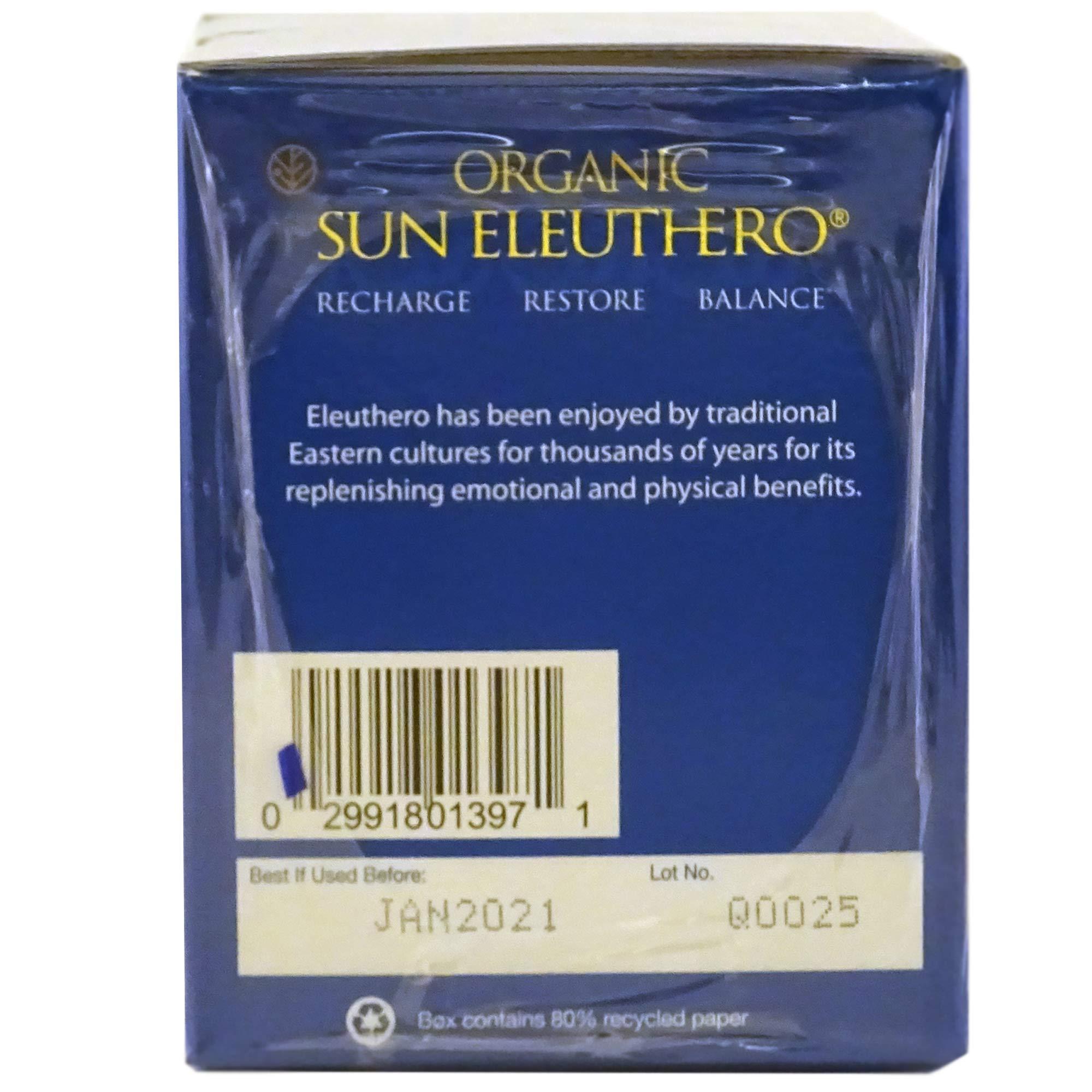 Sun Chlorella- Organic Sun Eleuthero Dietary Supplement- 200Mg Tablets (1200 Count) by Sun Chlorella (Image #3)