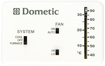 wiring diagram for duo therm thermostat wiring amazon com dometic 3106995 032 heat cool analog thermostat on wiring diagram for duo therm thermostat