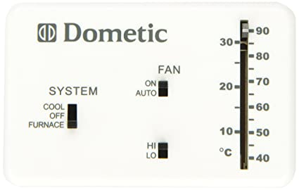 amazon com dometic d3106995 032 heat cool analog thermostat automotive rh amazon com