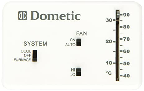 81Jn7vmmuvL._SX463_ amazon com dometic 3106995 032 heat cool analog thermostat Honeywell Thermostat Wiring Diagram at gsmportal.co