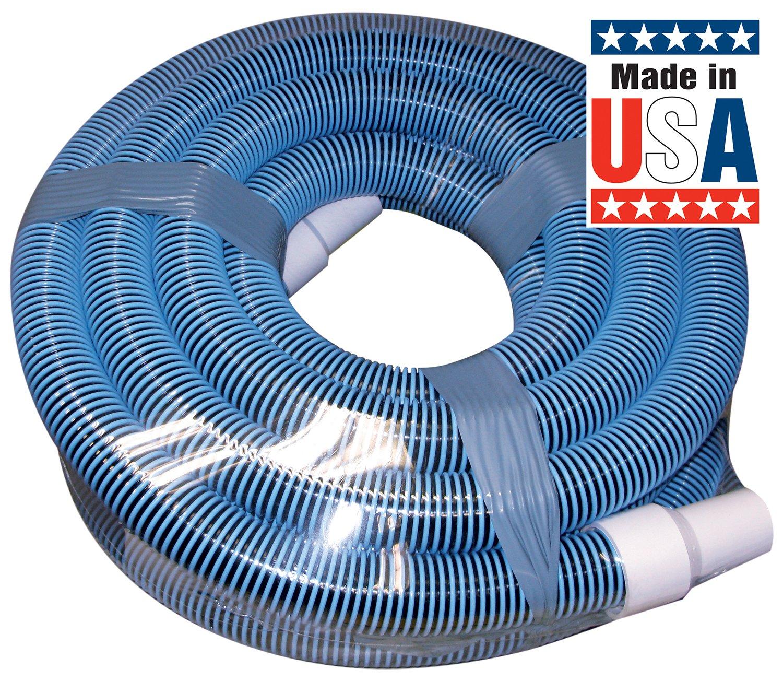 Poolmaster 33440 Heavy Duty In-Ground Pool Vacuum Hose With Swivel Cuff 1-1//2-Inch by 40-Feet