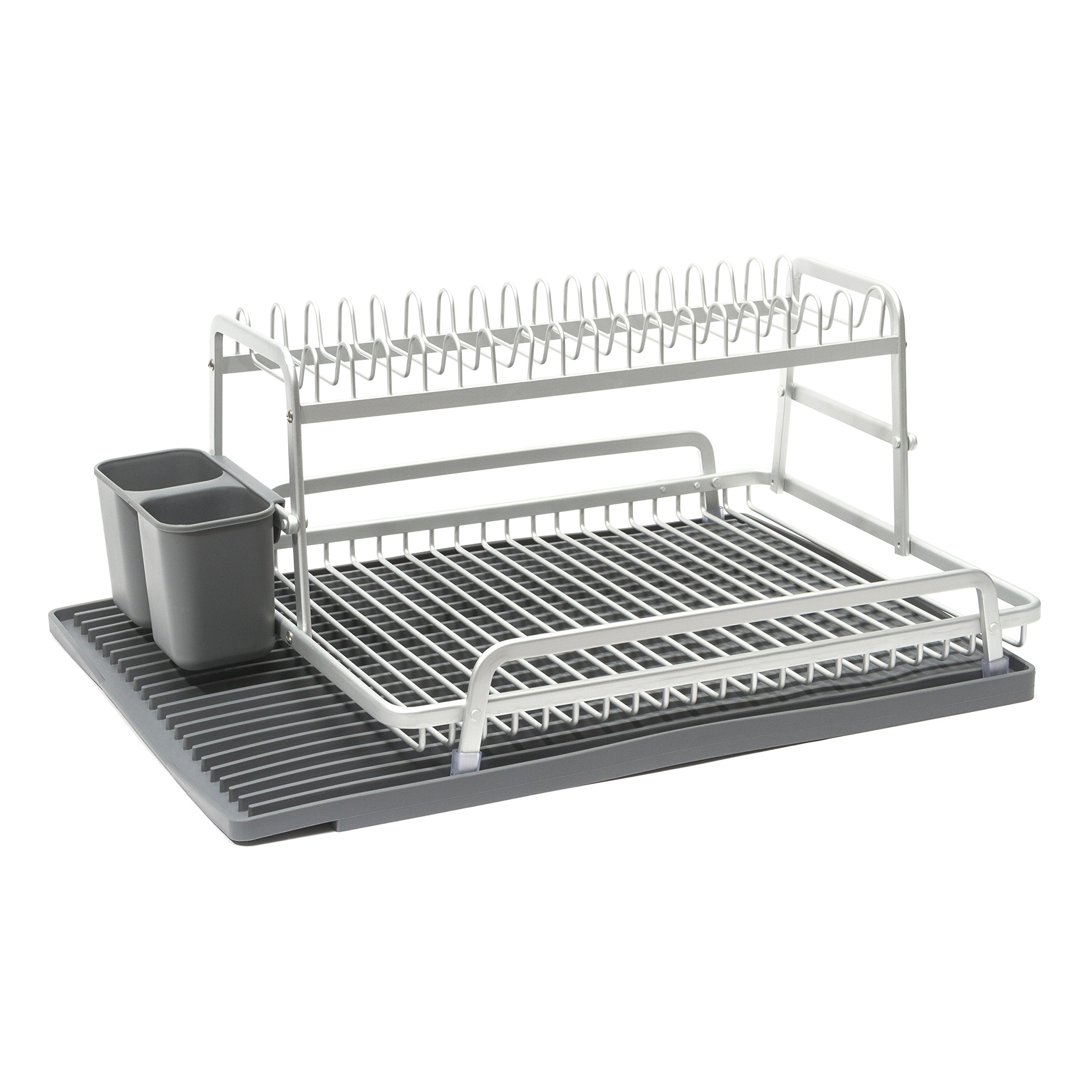 ta da TDDR200DG Dish Rack, Dark Grey
