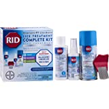 RIDLice Treatment Complete Kit, Includes 4 Fluid Ounces RID Lice Killing Shampoo, 2 Fluid Ounces Lice and Egg Comb-Out Spray, Lice Comb, and 3 Ounces RID Home Lice, Bedbug & Dust Mite Home Spray