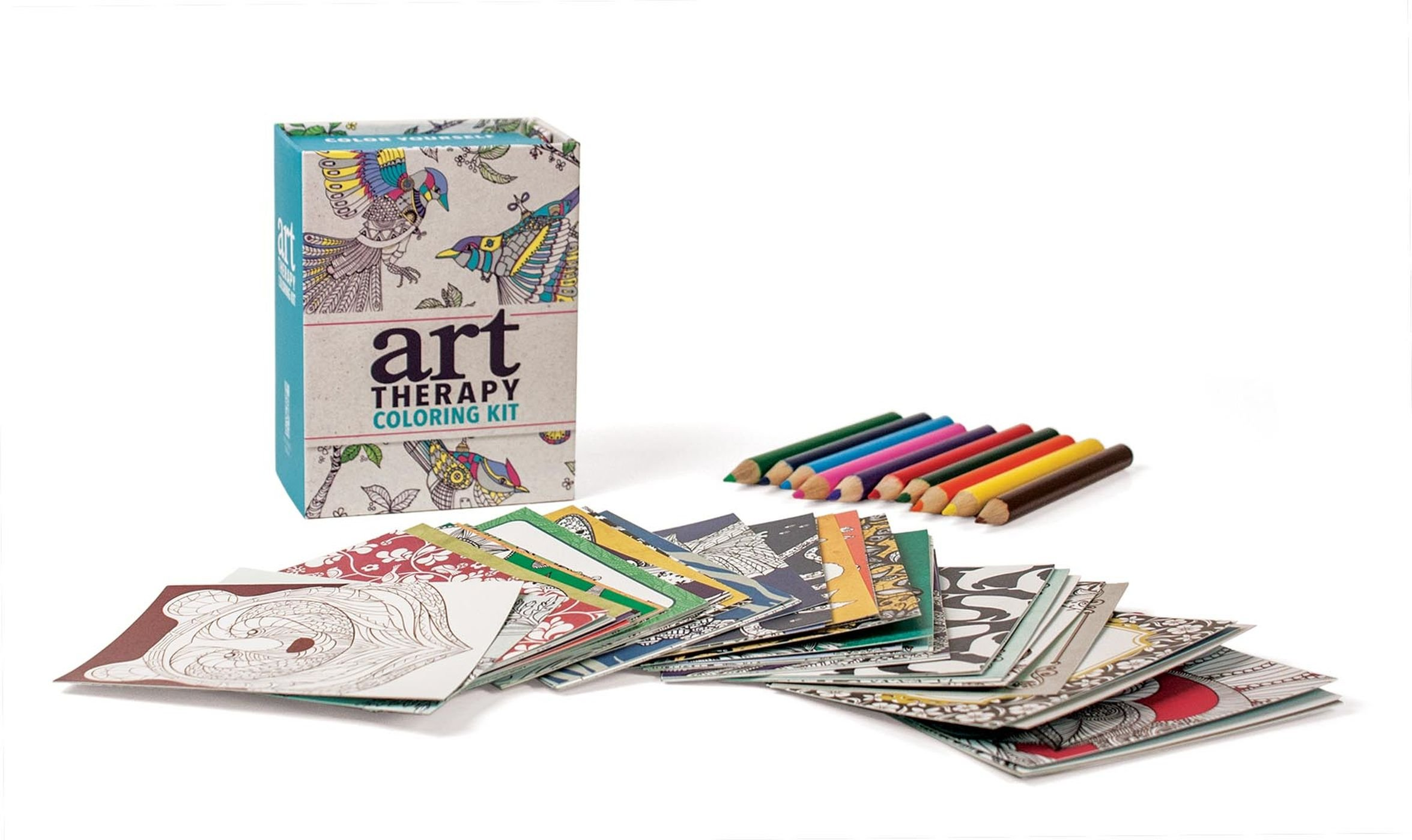 Art Therapy Coloring Kit Miniature Editions Sam Loman 9780762460564 Amazon Books