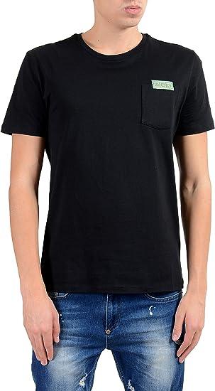 Versace Collection Mens Black Crewneck T-Shirt Size US XL IT 54