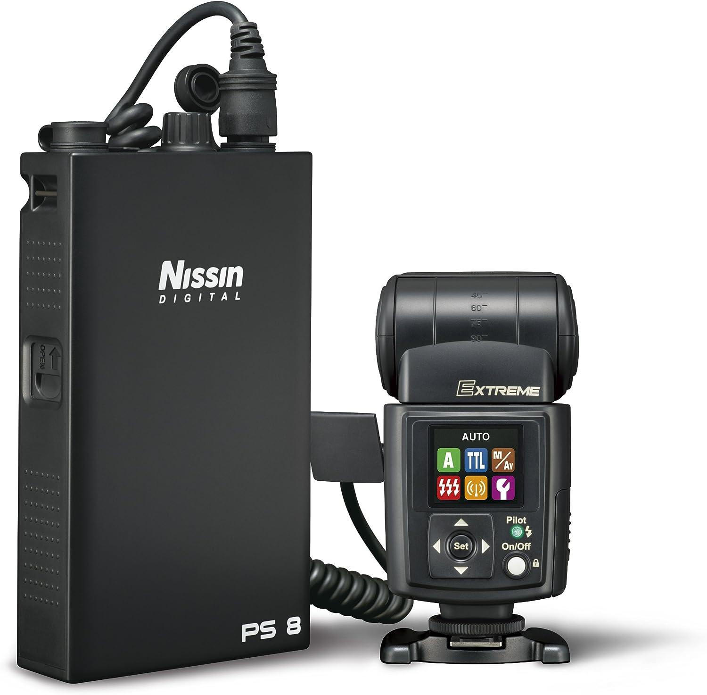 Nissin Digital N067 - Pack de batería y Funda para Flash Canon, Negro: Amazon.es: Electrónica