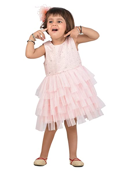 3c0ef3147589 KidsDew Fancy Dress for Kids Girls Baby Girls Frock Dress Party Wear ...