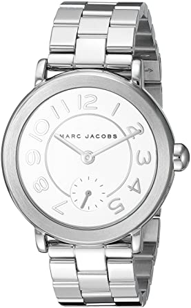 a6aa1bbfab566 Amazon.com: Marc Jacobs Women's Riley Stainless-Steel Watch - MJ3469: Marc  Jacobs: Watches