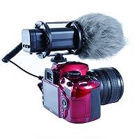 Microphone Professionnel Stéréo X/Y Movo VXR300 HD à condensateur pour appareils Photo Vidéo DSLR
