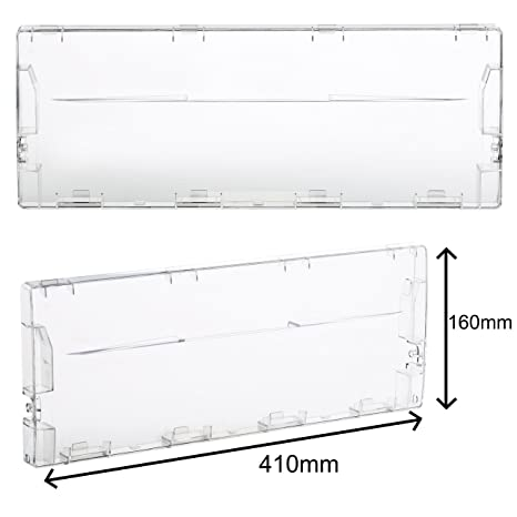 first4spares plastic front drawer flap cover for indesit fridge freezers:  amazon co uk: kitchen & home