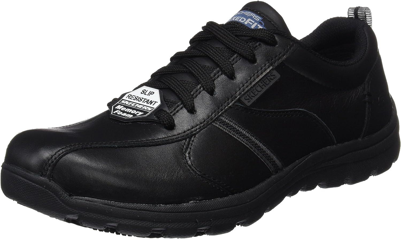Skechers Work Relaxed Fit: Hobbes - Frat SR, Zapatos de Seguridad para Hombre