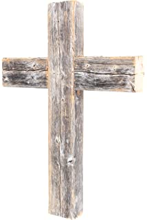 BarnwoodUSA Rustic 12 By 16 2 Inch Old Wooden Cross