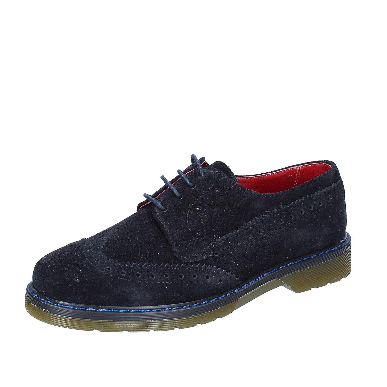 AT. P. CO. Elegante Schuhe Herren Wildleder blau