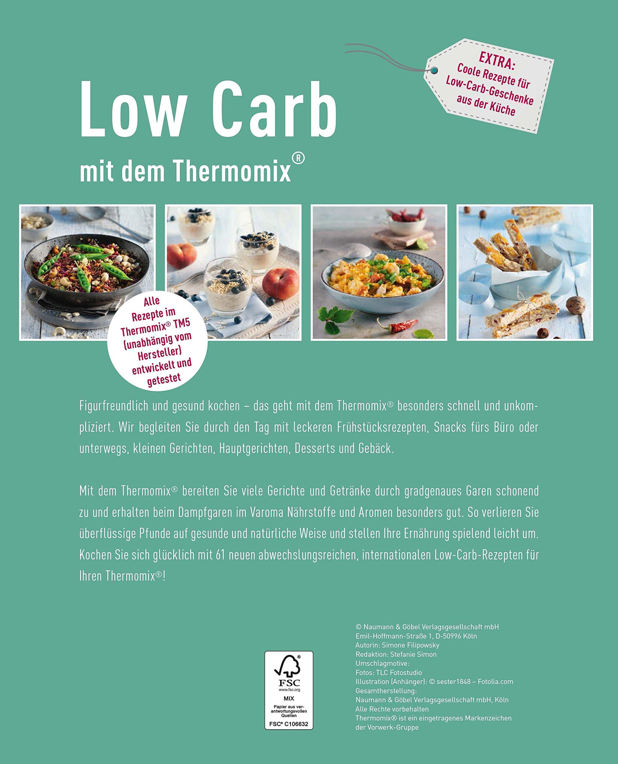 Low Carb mit dem Thermomix: Amazon.de: Simone Filipowsky: Bücher