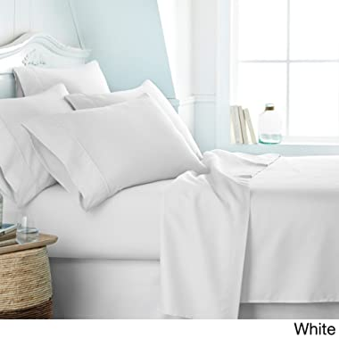 Organic Sheets - 100% Organic Cotton Sheet Set, 500 Thread Count - GOTS Certified 15'' Deep Pockets - Easy Fit - Wrinkle Free -Breathable & Cooling Sheets(White/King)
