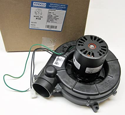 Nordyne Furnace Draft Inducer blower (7021-11227, 6219490) Fasco # A122