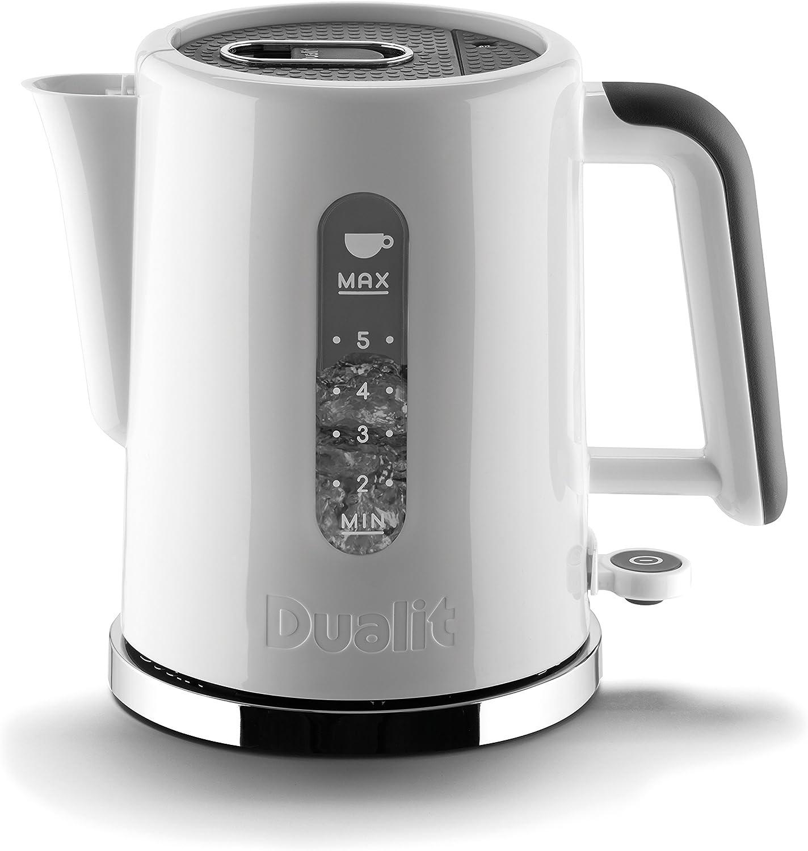 Dualit Studio Kettle 1.5L , White Grey