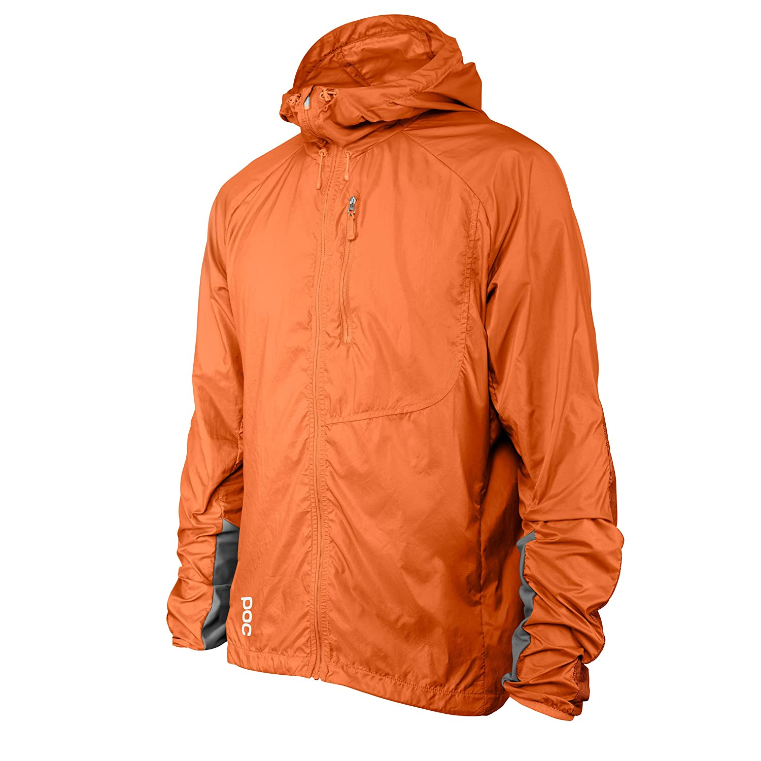 POCスポーツ抵抗Enduro Wind Jacket – Men 's B01MT43PGL Large|Adamant Orange Adamant Orange Large