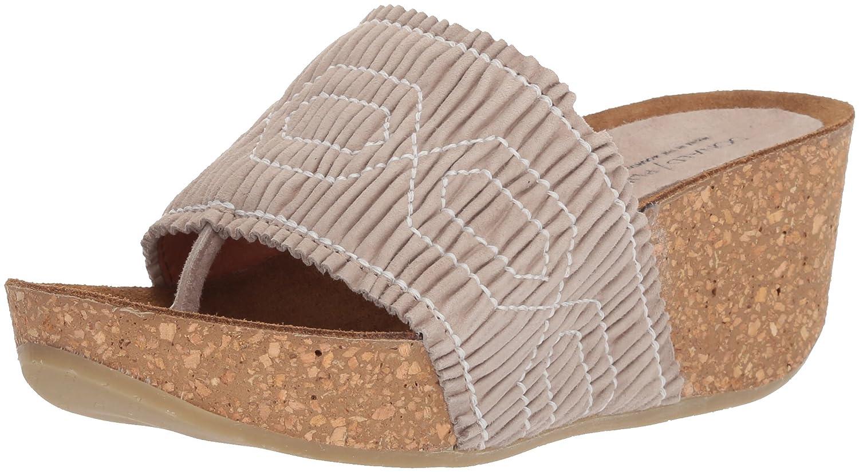 Donald J Pliner Women's Gess Slide Sandal B07559NBJ4 6.5 B(M) US|Almond