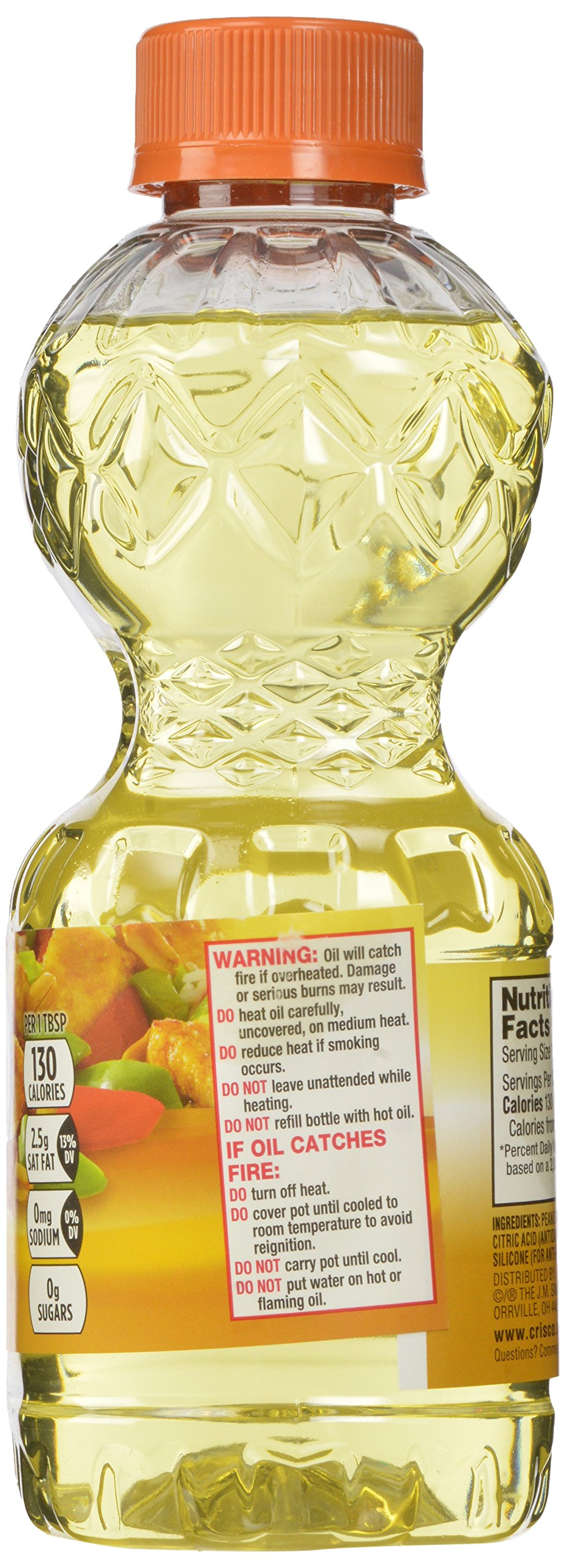 Crisco Pure Peanut Oil, 32 Ounce (Pack of 9) by Crisco (Image #5)
