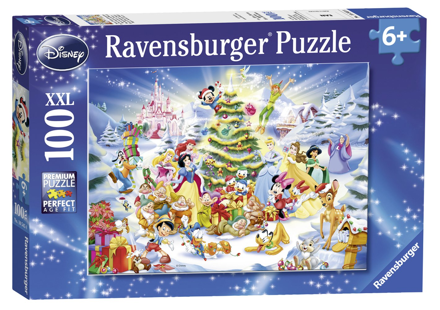 Ravensburger Kids Disney Christmas Eve Jigsaw Puzzle Family Entertainment Set