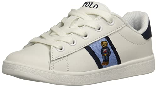 2b1f444ce23af Polo Ralph Lauren Baby Boys  Quilton Bear Sneaker  Amazon.co.uk ...